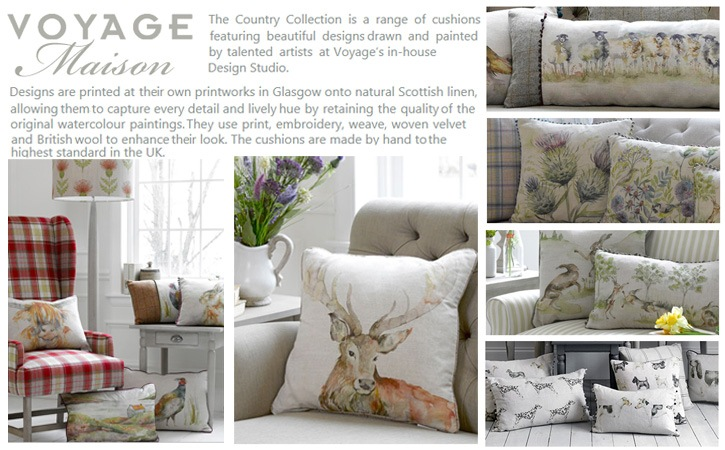 New Product Voyage Maison Country Collection Cushions