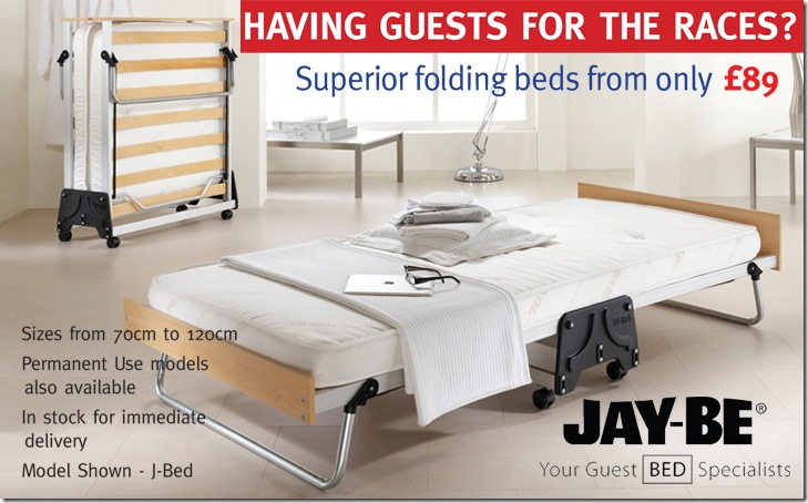 Jay-be folding bed guest bed